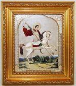 Георгий Победоносец, Икона в багетной рамке 14 Х 16, партия 20 шт.