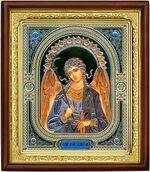 Ангел Хранитель, икона в деревянной рамке (Д-18пс-04)