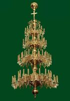 Паникадило (№ 41), 4-ярусное (124 свечи)