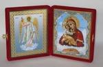 Складень мал.карт.(Ангел Хранитель ростовой, Почаевская Б.М.(2)
