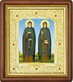 Петр и Феврония, средняя аналойная икона (Д-20пс-49)
