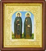 Петр и Феврония, средняя аналойная икона (Д-17пс-49)