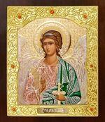 Ангел Хранитель. Икона в окладе средняя (Д-21-05)
