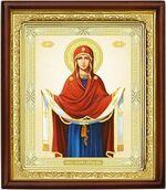 Покров Б.М., икона в деревянной рамке (Д-18пс-50)