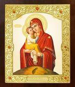Почаевская Б.М. Икона в окладе средняя (Д-21-51)