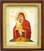 Почаевская Б.М., икона в деревянной рамке (Д-18пс-51)