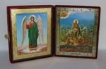 Складень бол.карт.(Ангел-Хранитель ростовой (2), Иоанн Креститель (2)