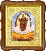 Спорительница хлебов Б.М., средняя аналойная икона, фигурный киот (Д-17фс-57)