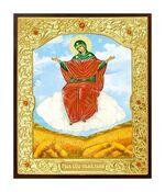 Спорительница хлебов Б.М.. Икона в окладе малая (Д-22-57)