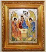 Троица, Икона в багетной рамке 14 Х 16, партия 20 шт.