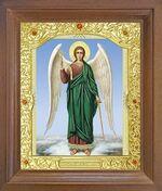 Ангел Хранитель (рост). Икона в деревянной рамке с окладом (Д-26псо-06)