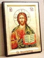 Спаситель, икона Греческая, 17 Х 23