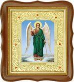 Ангел Хранитель, средняя аналойная икона, фигурный киот (Д-20фс-06)