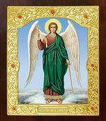 Ангел Хранитель. Икона в окладе средняя (Д-21-06)