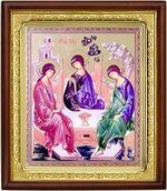 Троица, икона в деревянной рамке (Д-18пс-62)