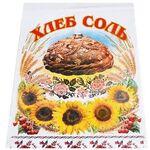 Рушник венчальный (01), Хлеб - Соль, подсолнухи