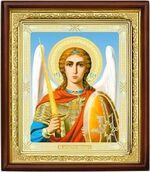 Архангел Михаил (пояс), икона в деревянной рамке (Д-18пс-69)