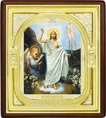 Воскресение Христово, средняя аналойная икона, риза (Д-1с-71)