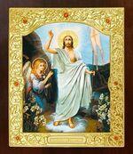 Воскресение Христово. Икона в окладе средняя (Д-21-71)