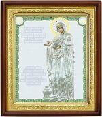 Геронтисса Б.М., икона в деревянной рамке (Д-18пс-72)