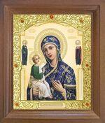 Иерусалимская Б.М. Икона в деревянной рамке с окладом (Д-26псо-73)