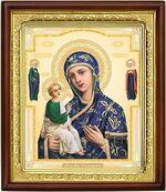 Иерусалимская Б.М., икона в деревянной рамке (Д-18пс-73)