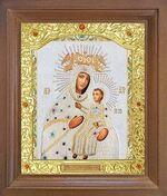 Мариампольская Б.М. Икона в деревянной рамке с окладом (Д-26псо-74)