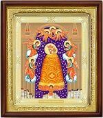 Прибавление ума Б.М., икона в деревянной рамке (Д-18пс-75)