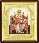 Спиридон Тримифунтский (трон), средняя аналойная икона, риза (Д-1с-76)