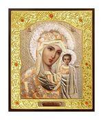 Казанская Б.М.. Икона в окладе малая (Д-22-08)