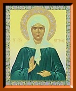 Матрона (2). Малая аналойная икона