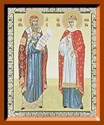 Петр и Феврония (3). Малая аналойная икона