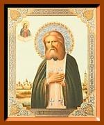 Серафим Саровский (2). Малая аналойная икона