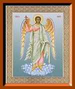 Ангел - Хранитель ростовой. Средняя аналойная икона