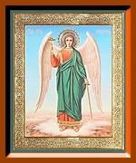 Ангел - Хранитель ростовой (2). Средняя аналойная икона