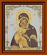Владимирская Б.М.(4). Средняя аналойная икона
