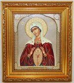 Помошница в родах Б.М. Икона в багетной рамке 14 Х 16