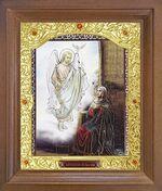Благовещение Б.М. Икона в деревянной рамке с окладом (Д-26псо-92)