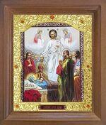 Успение Пресвятой Богородицы. Икона в деревянной рамке с окладом (Д-26псо-94)