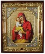 Почаевская Б.М., с багетом. Храмовая икона (54 Х 66)