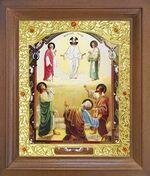 Преображение Господне. Икона в деревянной рамке с окладом (Д-26псо-95)