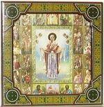 Покров Б.М., с иконограф., икона подарочная (27 Х 27)
