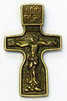 Крест нательный металл (9-36) литой цвет бронза