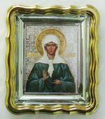 Матрона Московская. Икона настольная малая, прямоуг.