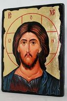 Спаситель, икона синайская, 17 Х 23