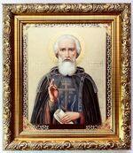 Сергий Радонежский, Икона в багетной рамке 14 Х 16