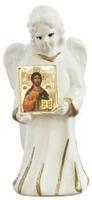 Ангел с иконой Спасителя